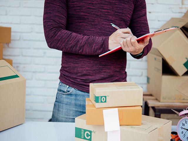 package receiving
